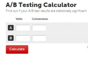 A B Testing Calculator Analytics