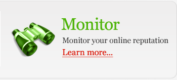 Monitor online reputation