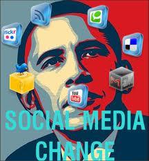 social media obama