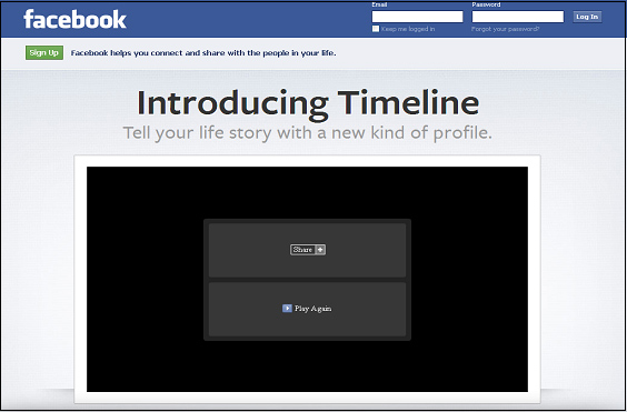 Facebook Timeline New Changes