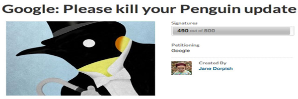 google-penguin-petition