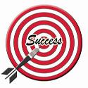 Social Media Bulls Eye Target Success