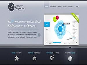 Clean Classy Corporate - C3 Enterprise WordPress Theme