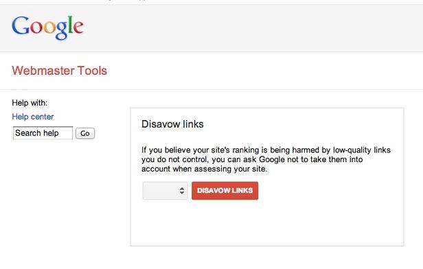 google negative seo link disavow