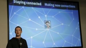 Mark Zuckerberg presenting the idea of Facebook Graph Search