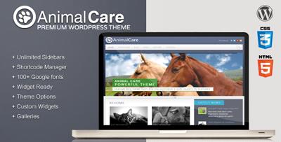 Animal Care Premium WordPress Theme