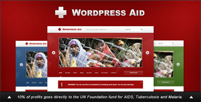 WordPress Aid Charity Blog Theme