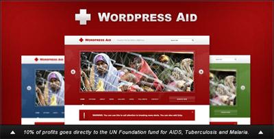 WordPress Aid Charity Blog Theme