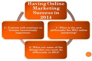 Having Online Marketing Success in 2014